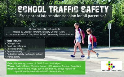 School Traffic Safety Free parent information session for all parents of